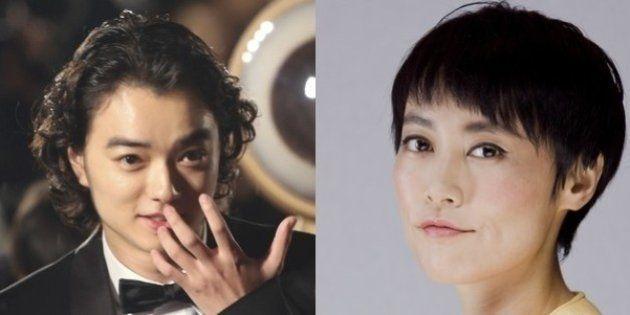 染谷将太、11歳年上の菊地凛子と結婚