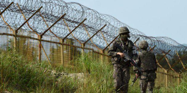 韓国軍「北朝鮮が地雷埋めた」と非難 非武装地帯で2兵士が負傷