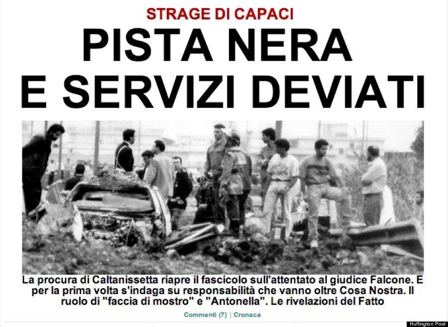 イタリアマフィアによる裁判官爆殺事件に新事実/ハフィントンポスト各国版