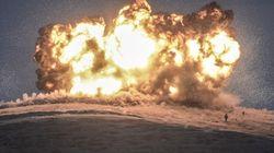 「イスラム国の首都」ラッカを大規模空爆 63人が死亡、過半は民間人
