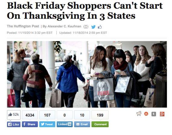 【ニュースで学ぶ英語】感謝祭、営業禁じる「ブルーロー」