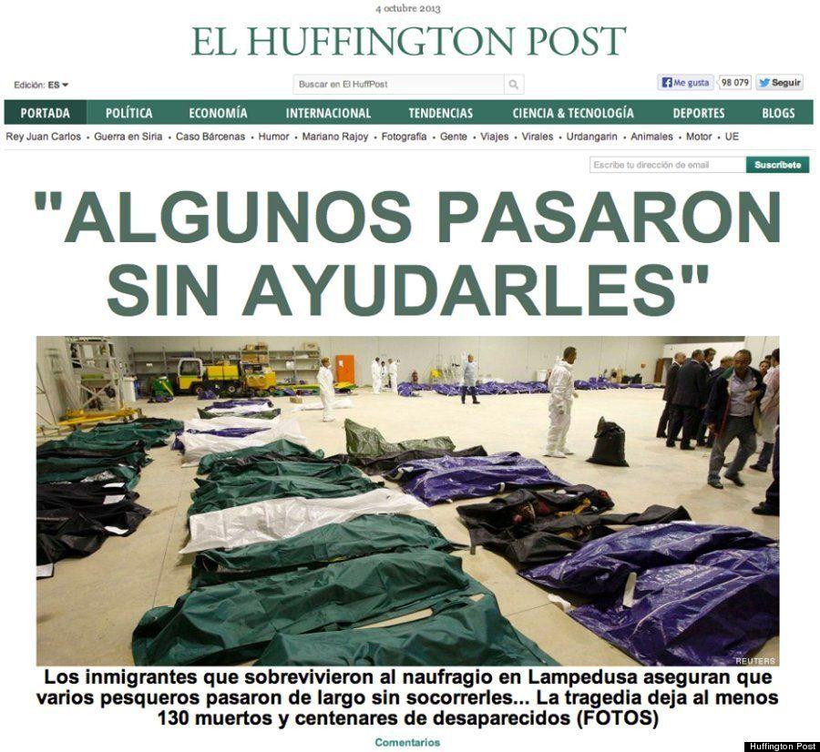 イタリアの難民船沈没、通りかかった船が次々と「見殺し」/ハフィントンポスト各国版