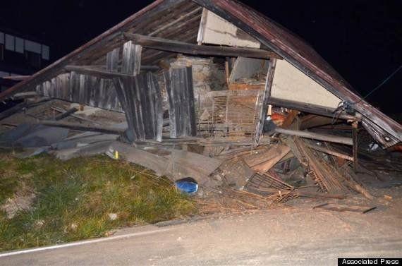 【長野県北部の地震】震度6弱、けが人多数 骨折の重傷者も