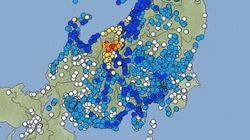【地震】長野北部でM6.8 震度6弱を観測