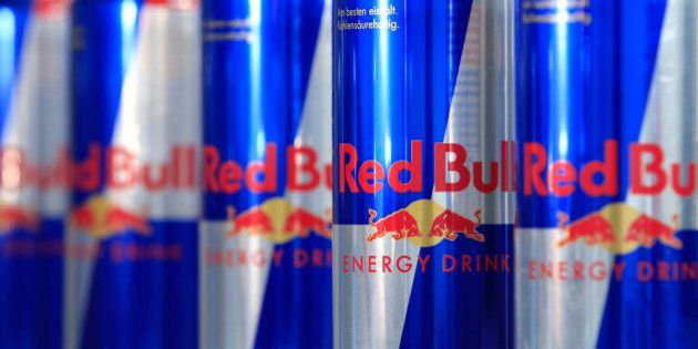 Austrian beverage energy drink cans of Red Bull are pictured in Vienna on March 16, 2013. Red Bull said...