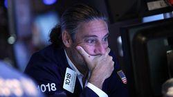 【世界同時株安】NY株、中国株急落を受けて軒並み4%下落 ダウは一時過去最大1000ドル超安