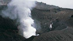 阿蘇山の噴火続き、航空便に影響 噴煙は1500メートルに