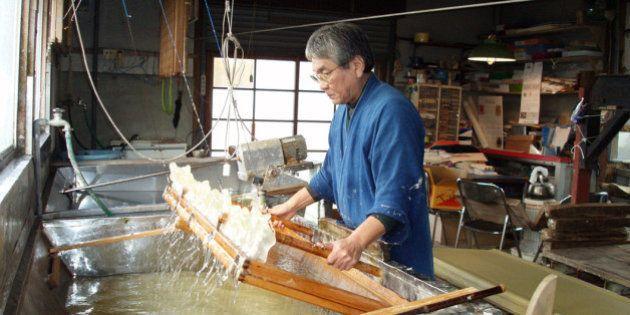 和紙が無形文化遺産に 登録された3つの和紙は他と何が違う?