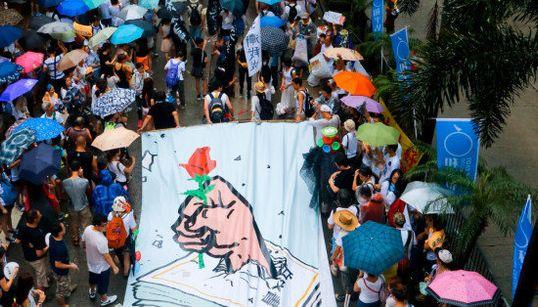 「香港デモは、まだまだ終わらない」しかし、政府は強制執行へ(画像)