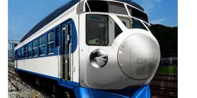 見た目だけ0系新幹線、JR四国で復活