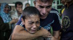 ガザで国連運営の学校に砲撃 15人死亡、200人けが