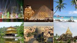 「世界一お金を落とす旅行者」中国人の海外旅行先ベスト20