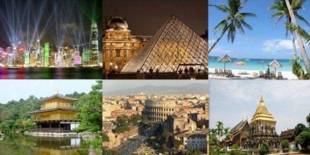 「世界一お金を落とす旅行者」中国人の海外旅行先トップ20
