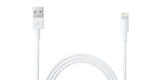 iPhoneの充電ケーブルに注意