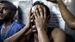 ガザ難民キャンプ爆発、子供8人死亡 イスラエル空爆か、ハマスのロケット弾誤射か