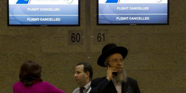 テルアビブ便の運航を中止 欧米の複数航空各社、ガザ情勢悪化で