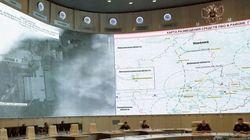「ロシア領内から砲撃の証拠」