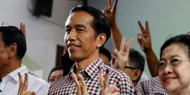インドネシア大統領選、当選したジョコ・ウィドド氏はどんな人 政権の汚職・インフラ不足が課題