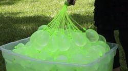 1分で100個つくる「水風船」マシーンが最強すぎる【動画・画像】