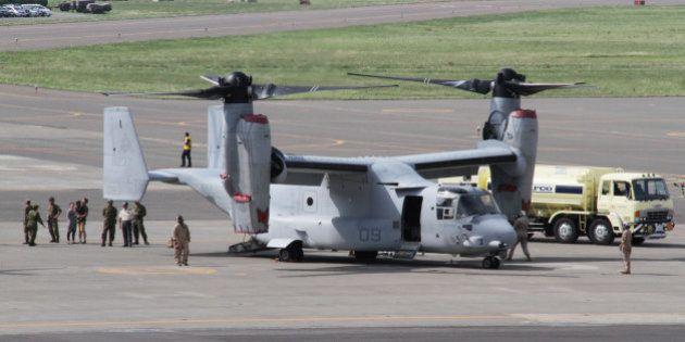 オスプレイ、佐賀空港への配備で県に協力要請 米軍利用で新たな交付金も