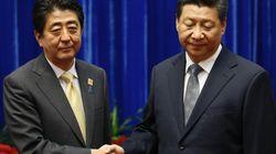 2年半ぶりに日中首脳会談 安倍首相「関係改善への第一歩」