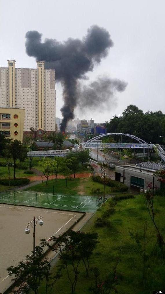 韓国でヘリ墜落、5人死亡 セウォル号不明者の捜索終えて帰る途中【UPDATE】