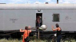 【マレーシア航空機撃墜】ウクライナ、全遺体を収容 オランダに移送へ