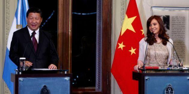 中国がアルゼンチン向け75億ドル融資協定に調印、ダムや鉄道を建設
