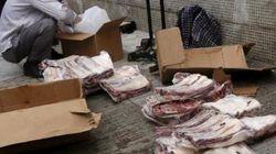 中国で「ゾンビ肉」流通、40年前の肉も 当局が密輸摘発を強化