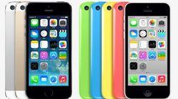 ドコモからも。iPhone 5s と iPhone 5c