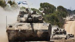 イスラエル首相、ガザでの地上戦を拡大する構え パレスチナ人の死者300人超える