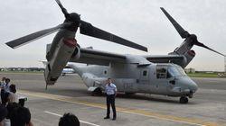 オスプレイ、5機410億円 アメリカが日本に売却決定「輸送機の近代化につながる」