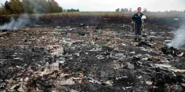 【マレーシア航空機墜落】ウクライナ親ロシア派がミサイルで「撃墜」か、東西対立の懸念