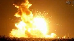 アンタレス・ロケットが打ち上げ直後に爆発【動画】