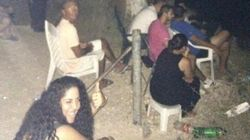 イスラエル人の一部には、ポップコーン片手にガザ空爆を見物している不届き者もいる(画像)