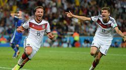 W杯決勝、ドイツが延長戦でアルゼンチンを1−0で下し優勝