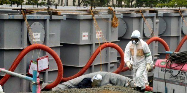 台風18号接近でセシウム濃度を測らずに海に放出【汚染水タンク周辺の水】