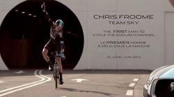 世界初のチャレンジ、ツール・ド・フランスの覇者がユーロトンネルを自転車で走破【動画】
