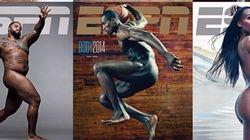 アスリートたちがスポーツ雑誌の特集で肉体美の競演(画像)