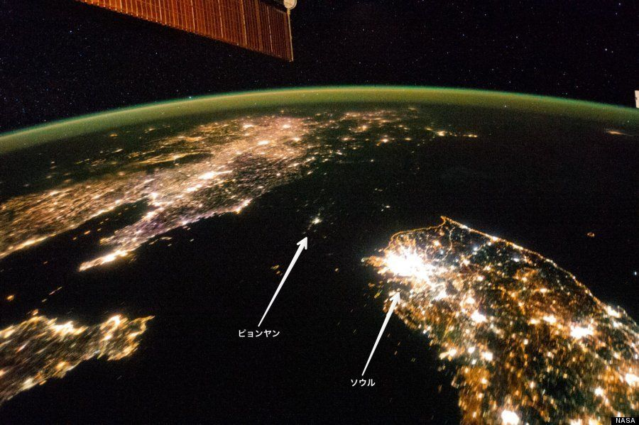 「北朝鮮の夜」 たった一枚の写真がすべてを物語る