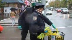 【エボラ出血熱】感染者の住居付近を警備した警官、