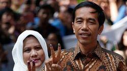 インドネシア大統領選、ジョコ・ウィドド陣営が勝利宣言