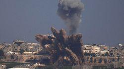 ガザ地区から原子力施設に向けロケット弾