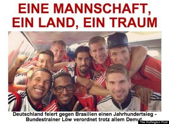 ワールドカップ準決勝、ブラジルとドイツのハフィントンポストはこう伝えた
