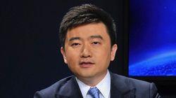 中国中央テレビの人気キャスター、拘束される 本番直前、検察当局に