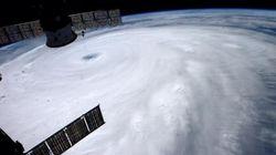 【台風8号】目がくっきり 宇宙飛行士が上空400キロから撮影(画像)