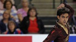 フィギュア界の若手マルティネス、高橋大輔の元コーチ振付の「オペラ座」を踊る