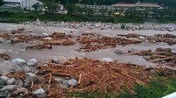 台風8号、九州上陸 離れた場所で土石流も【画像・動画】