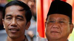 インドネシア大統領選、両陣営が勝利宣言 速報はウィドド氏優勢
