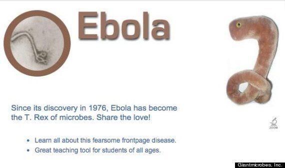 【エボラ出血熱】エボラウイルスのぬいぐるみが人気「世界的に在庫切れ状態」